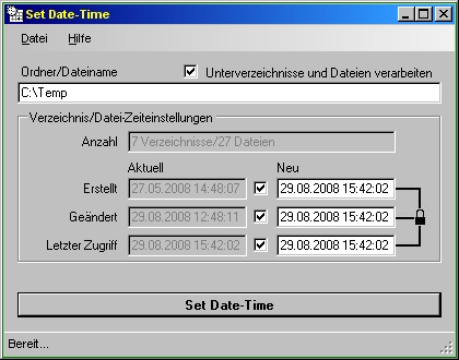 setdatetime program parameter